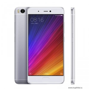 "Смартфон Xiaomi Mi5s Plus 64GB- 4G LTE 4GB RAM 5.7"" FHD Screen Snapdragon 821 Dual 13MP Cameras NFC MIUI 8"
