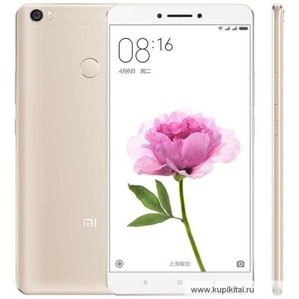 Смартфон Xiaomi Mi Max- MIUI 8 Snapdragon 652 Octa Core 3GB
