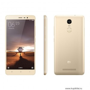 "Смартфон Xiaomi Redmi Note 3 Pro 16GB- SnapDragon 650 Hexa Core 64bit CPU 5.5"" FHD MIUI V7 16.0MP TOUCH ID"