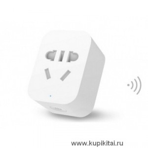 Интеллектуальная розетка Xiaomi Mi Zigbee Version Smart Socket Intelligent Outlet wifi Control With Phone APP для Ios Android